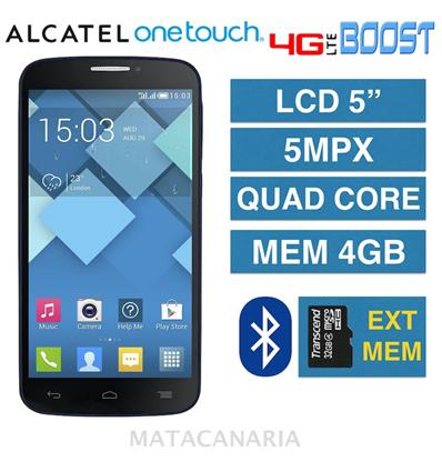 ALCATEL ONETOUCH BOOST VIEW 5.0 BLACK