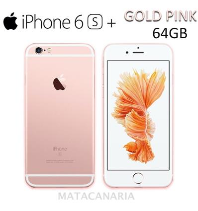 APPLE A1687 IPHONE 6S PLUS 64GB PINK GOLD