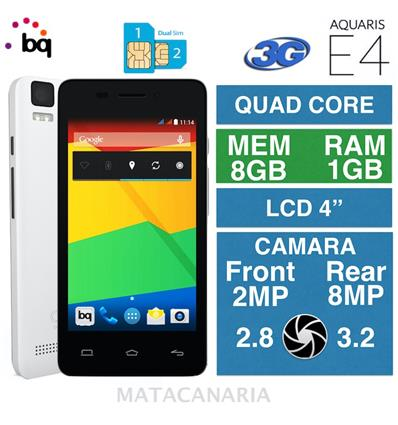 BQ AQUARIS E4 8GB BLACK/WHITE