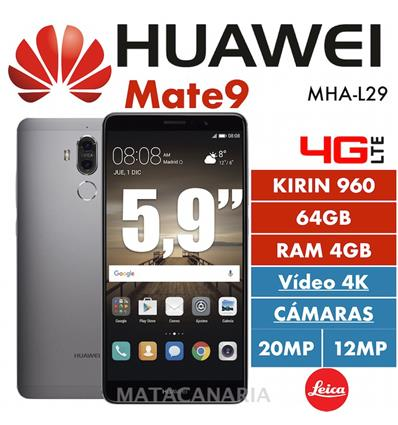 HUAWEI MATE 9 4G 64GB DS GRAY
