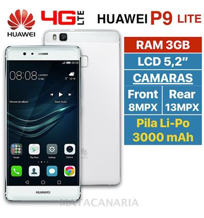 HUAWEI P9 LITE DS 2GB RAM WHITE