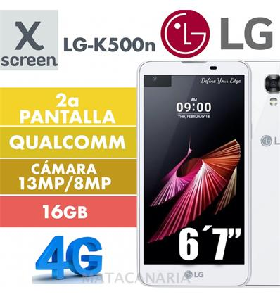 LG K500N X SCREEN LITE WHITE