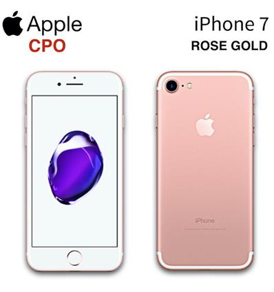 APPLE A1778 IPHONE 7 32GB CPO ROSE GOLD