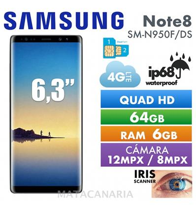 SAMSUNG SM-N950F/DS NOTE 8 64GB MAPLE GOLD