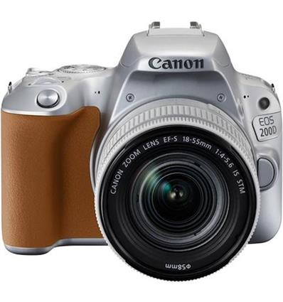 CANON EOS 200D EF-S 18-55 IS STM KIT GRAY