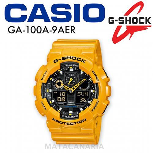CASIO GA-100A 7AER G-SHOCK