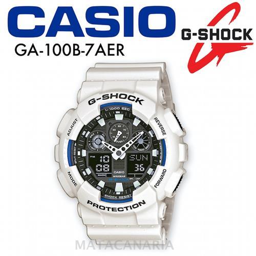 CASIO GA-100A 9AER G-SHOK YELLOW/BLACK