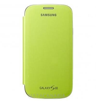 SAMSUNG FLIP COVER GREEN