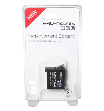 PRO MOUNTS REPLACEMENT BATTERY H4