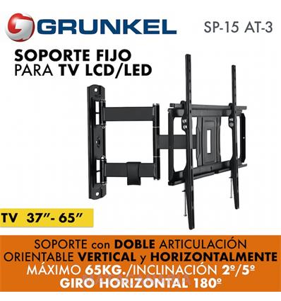 GRUNKEL SP-15 AT-3 SOPORTE TV ARTICULADO 32-65