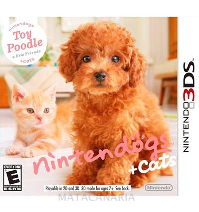 3DS TOY POODLE