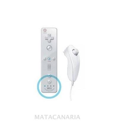WII REMOTE+NUNCHUK (COMPATIBLE) WHITE