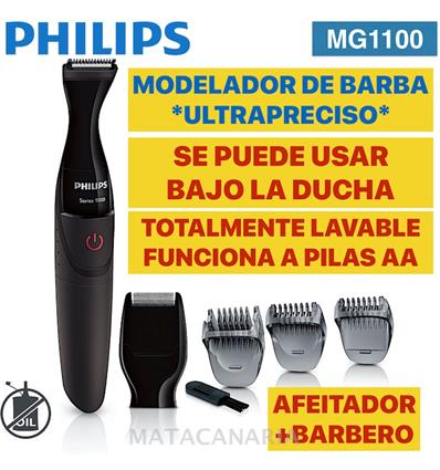 PHILIPS MG-1100 AFEITADOR+CORTADOR