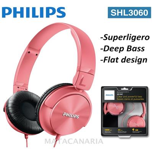 PHILIPS SHL-3060 AURICULAR PINK