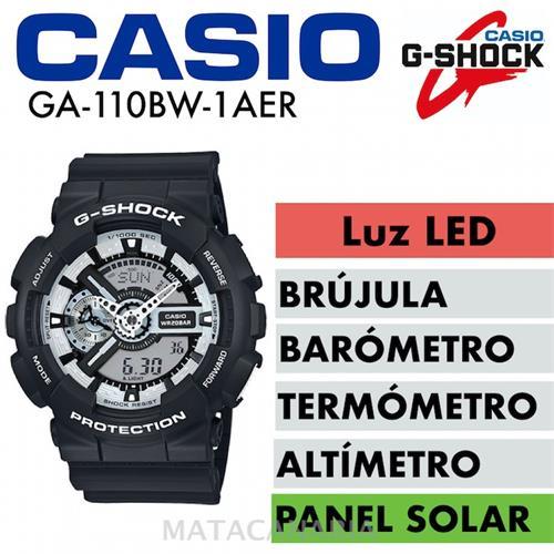 CASIO GA-110BW 1AER G SHOCK