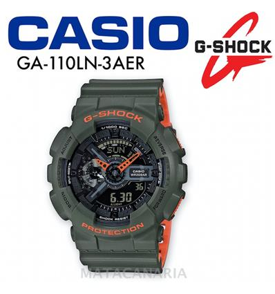 CASIO GA-110LN 3AER MEN´S WATCH