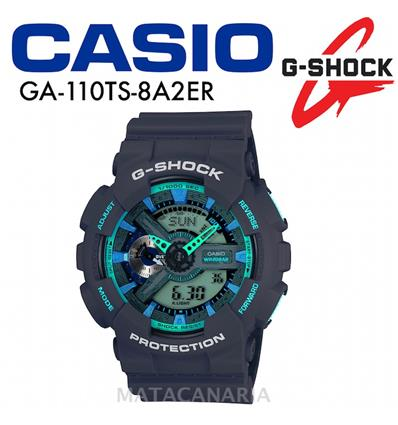 CASIO GA-110TS 8A2ER G-SHOCK MENS WATCH