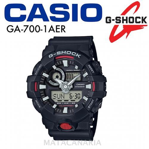 CASIO GA-700 1AER MEN´S WATCH