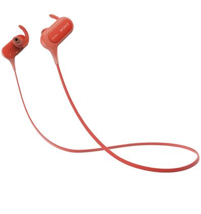 SONY MDR-XB50BS EXTRA BASS AURICULAR RED
