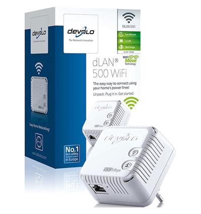 DEVOLO 09080  DLAN 500 WIFI REPETIDOR
