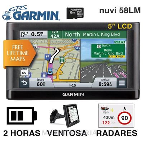 GARMIN 1400 NUVI 58LM GPS
